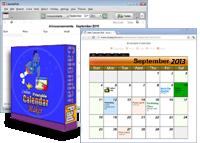 HTML Calendar Maker